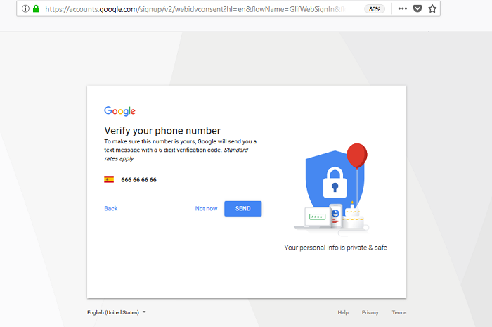 google-mail-sign-up-mobile-number